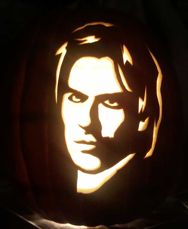 Pumpkin carving part this year s carves christie speich