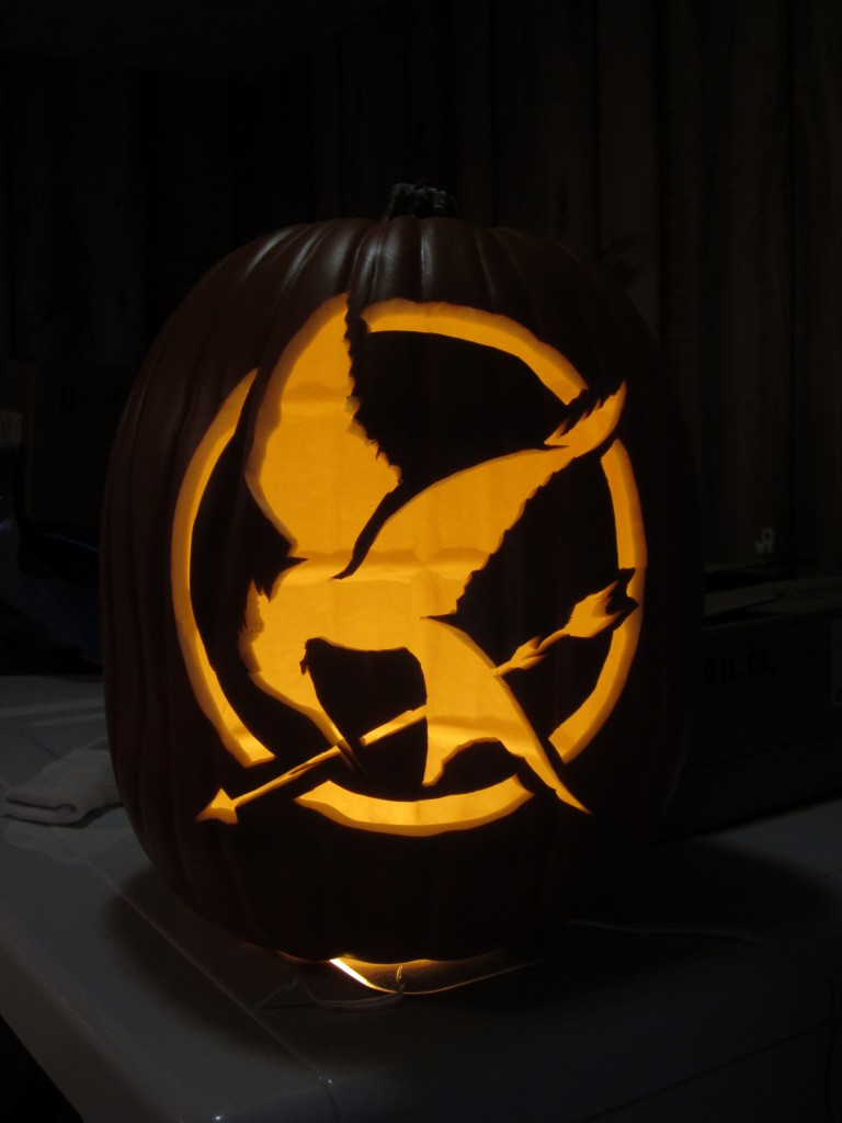 The Hunger Games Pumpkin Carving Patterns