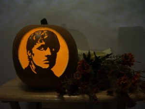 Hunger Games Peeta pumpkin
