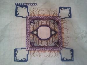 Needlework in Progress 1